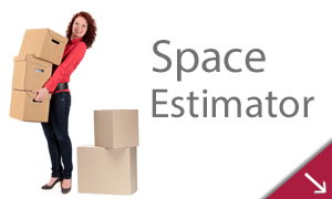 self storage space estimator